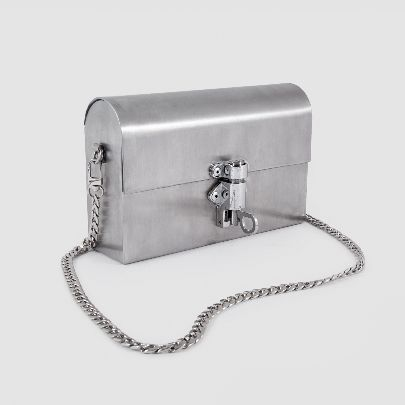 Picture of steel purse
