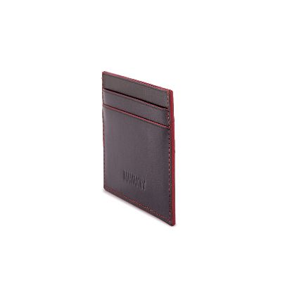 Picture of card holder with red borders