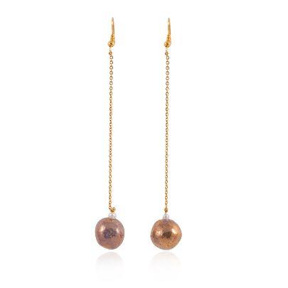 Picture of banafshe saberi earrings