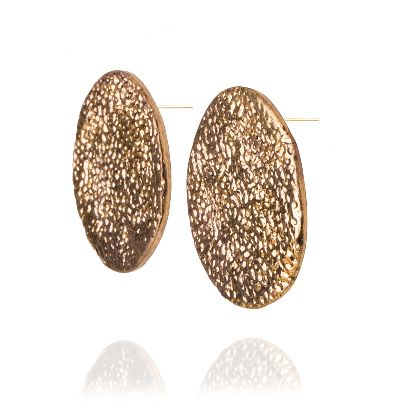 Picture of banafsheh saberi medallion earrings