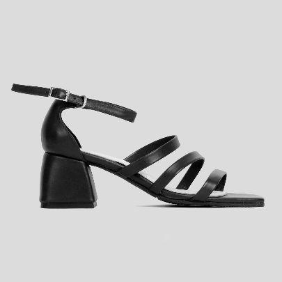 Picture of bonita black sandal