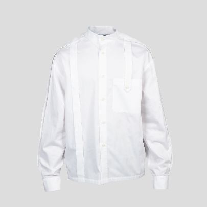 Picture of white blouse with pocket