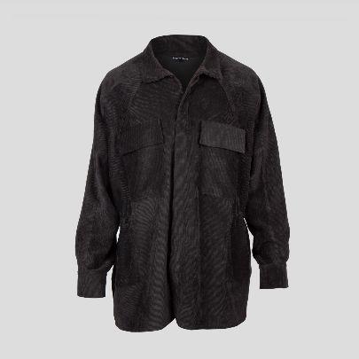Picture of black velvet blouse