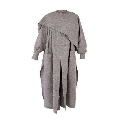 Picture of farda design dark grey manteau