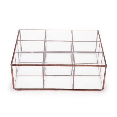 Picture of netted glass box