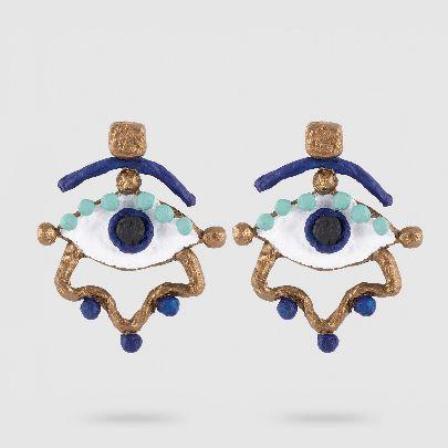 Picture of abru kamun earrings