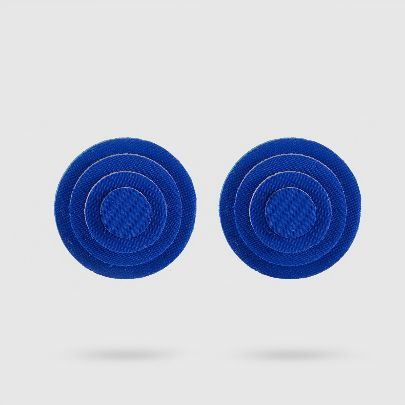 تصویر گوشواره داچک کوچک آبی