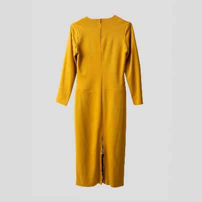 Picture of mustard dress