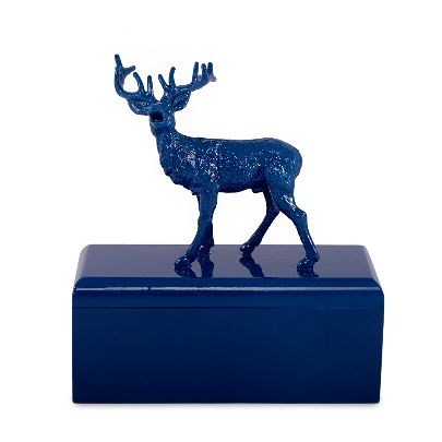 Picture of blue deer box