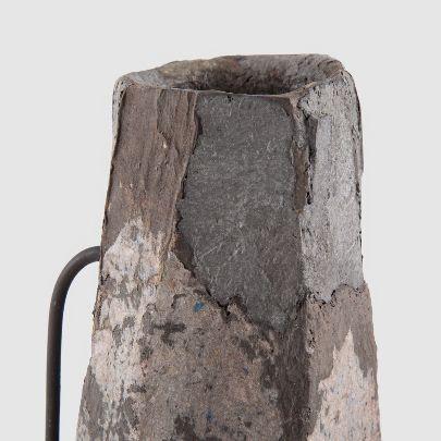 تصویر گلدان پاپیه ماشه فلزفام