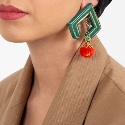 Picture of turquoise earrings