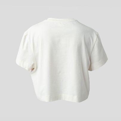 تصویر تی شرت کوتاه سفید