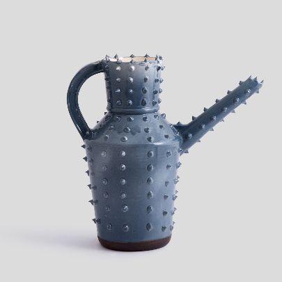 Picture of blue khartoum toilet pitcher