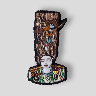 Picture of Roodabeh brooch