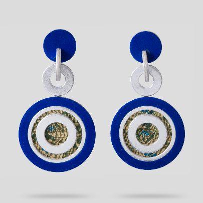 Picture of  silver nastaran earrings