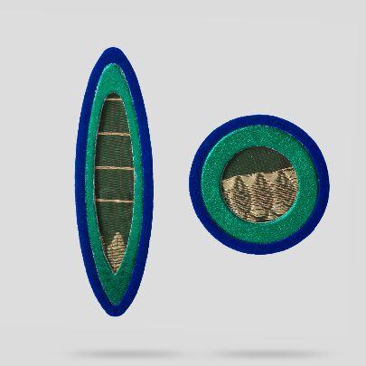 Picture of Green avishan earrings