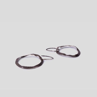 تصویر گوشواره دایره ای کوچک
