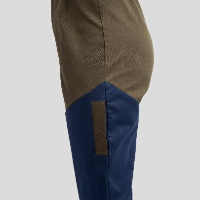 Picture of khaaki blue pocket pants