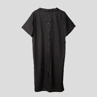 تصویر پیراهن دو طرفه دکمه دار