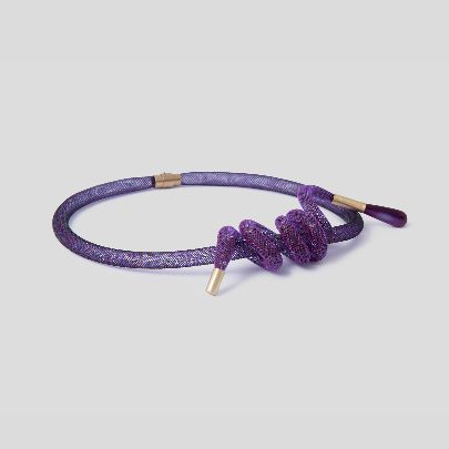 Picture of purple necklace
