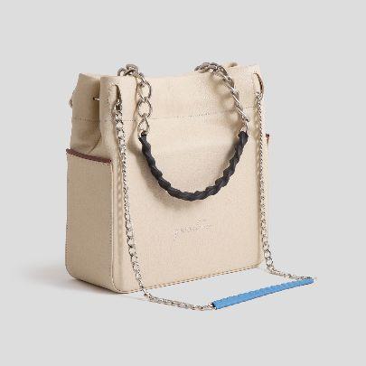 Picture of t-100 light cream bag