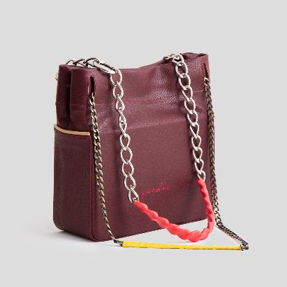 Picture of t-100 burgundy bag
