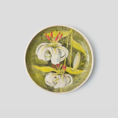 Picture of lilium ledebourii set of bowl and dish