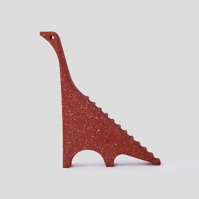 تصویر مجسمه دایناسور دودی