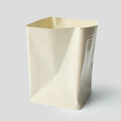 Picture of white tin bucket