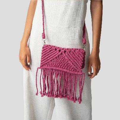 Picture of pink shoulder bag
