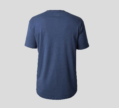 Picture of navy blue t-shirt with pocket