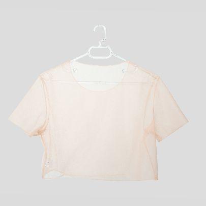 تصویر تی شرت کوتاه توری