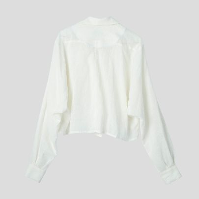 Picture of White linen blouse