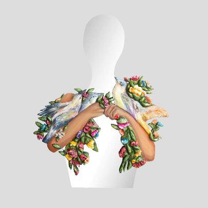 تصویر آینه انسان در گلستان