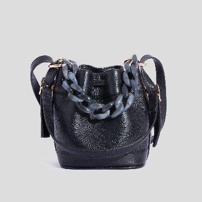 Picture of Black mini lolita bag