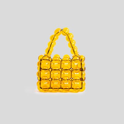 Picture of Yellow hand bag