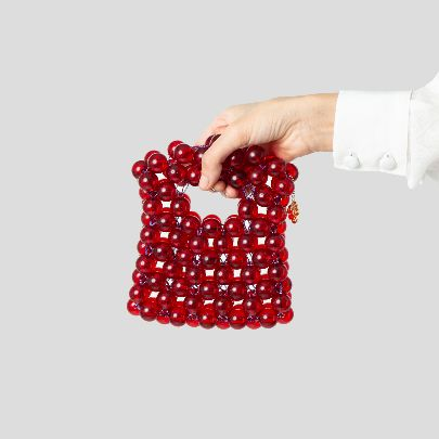 Picture of Red hand bag