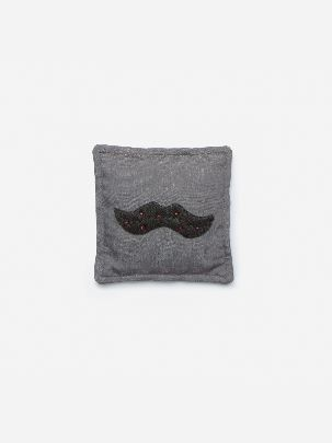 Picture of Grey moustache scented sachet