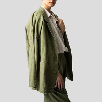 Picture of Green suit
