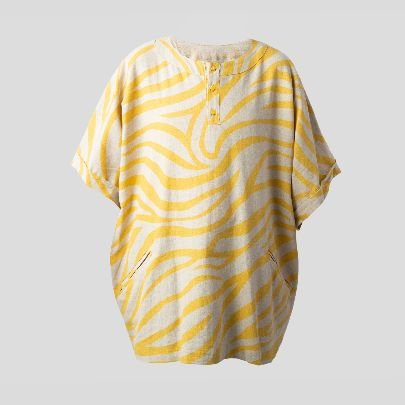 Picture of Yellow damavand blouse