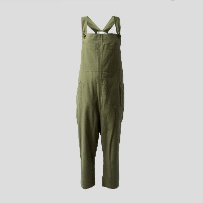Picture of Green linen overall