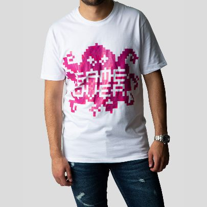 Picture of Pink game over T-shirt