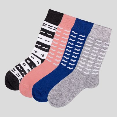 Picture of Aassttiinn Socks 4-piece pack
