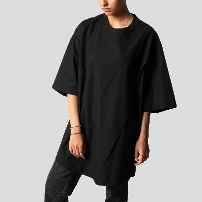 Picture of Black long blouse