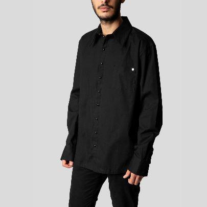 تصویر پیراهن مردانه مشکی