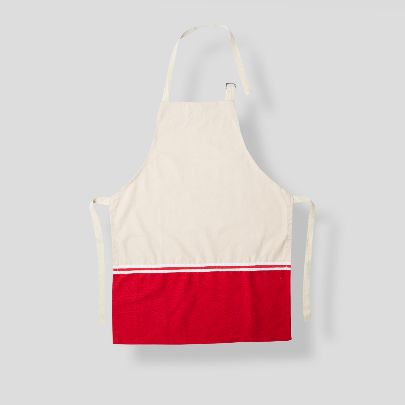 Picture of Red& pink apron