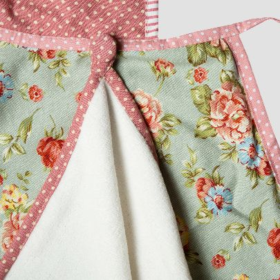 Picture of Floral apron with skirt liner