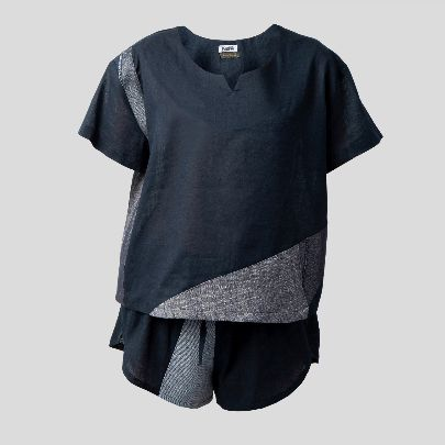 Picture of Grey & blue loungewear