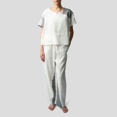Picture of Grey & white loungewear