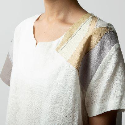 تصویر  ست لباس راحتی سفید